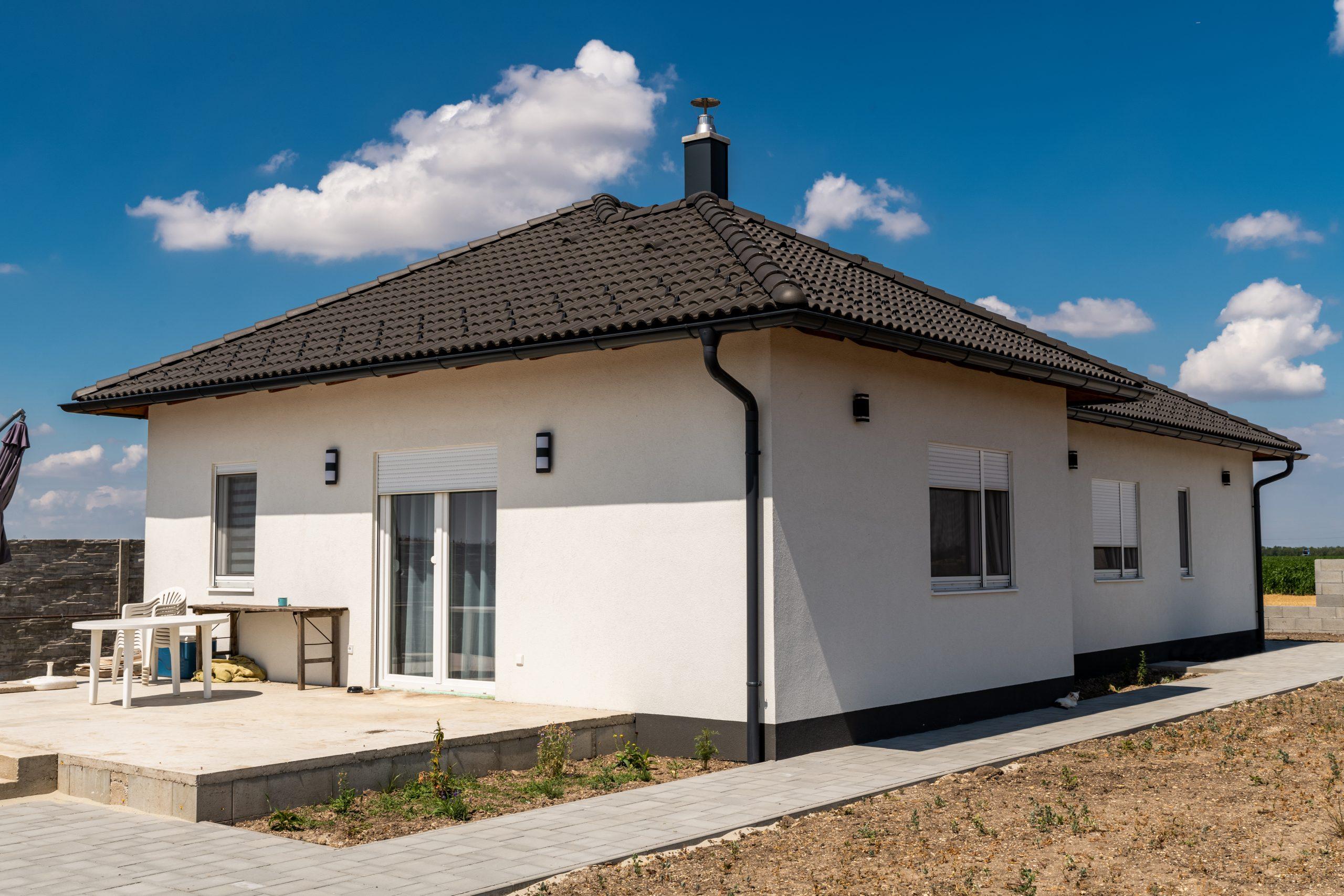 Letisztult készház - Platánplán Sopron