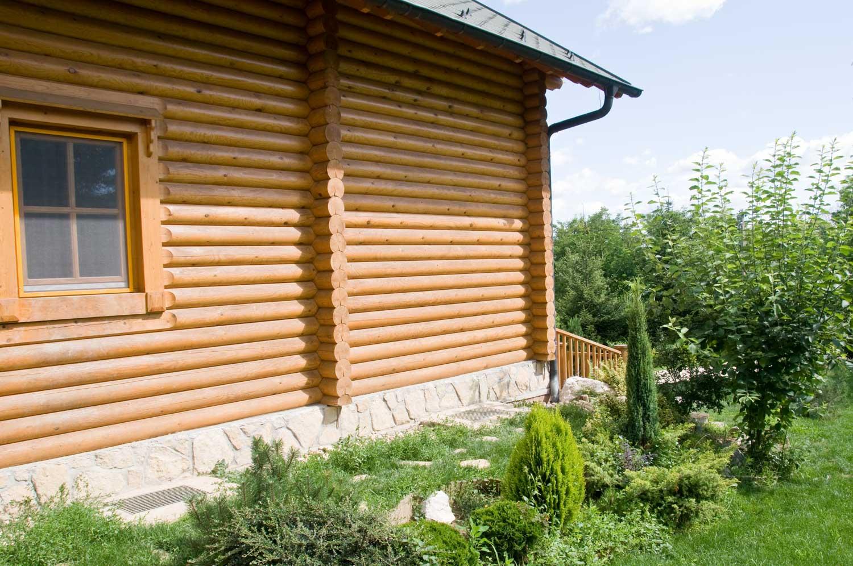 Platánplán Sopron rönkház